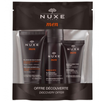 Nuxe Men Kit Voyage Gel Antiirritacion 35 ml   Gel De Ducha 30 ml   Gel Multifuncion Hidratante 15 ml