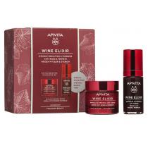 Apivita Pack Wine Elixir Rica Textura 50 ml  Tratamiento Facial Holistico