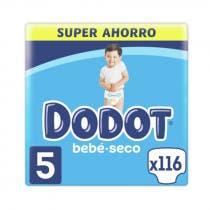 Dodot Bebe Seco Panal Pack Super Ahorro T5 120Uds