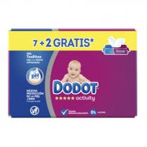 Toallitas Dodot Activity 486Uds