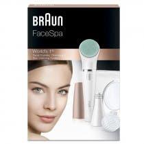 Braun FaceSpa 851V Sistema de Depilación Facial Multipack