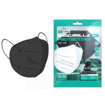 Mascarilla FFP2 Protectora Color Negro New Science 1 Unidad