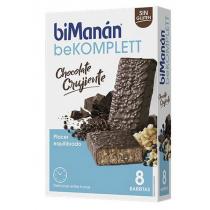 Bimanan Barritas Chocolate Crujiente Komplett 8 unidades