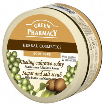 Peeling Corporal con Karite y Cafe Verde Green Pharmacy 300ml
