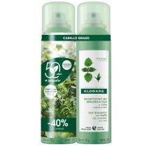 Klorane Champu Seco Ortiga Spray 2x150 ml