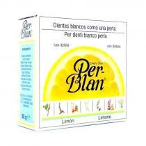 Perblan Dentifrico en Polvo Sabor Limon Biocop 30Gr