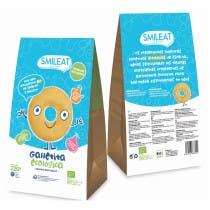 Galletas Infantiles de Espelta con Manzana Ecologica Smileat 220g