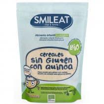 Papilla Ecologica Cereales Sin Gluten con Quinoa Smileat 200Gr