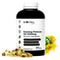 Hivital Aceite de Onagra 1000mg con 10% Omega 6 GLA 200 Perlas
