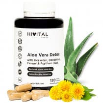 Hivital Aloe Vera Detox 120 Capsulas