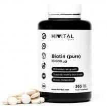 Hivital Biotina 10.000mcg 365 Comprimidos