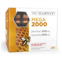Mega Jalea Real 2000mg Marnys 20 Viales