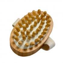 Cepillo Masaje Anticelulitis Bambu Natura Bio Cosmetics