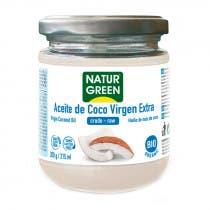 Aceite de Coco Virgen Bio NaturGreen 215ml