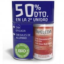 Pack Duplo Desodorante Roll On Granada Weleda 50ml