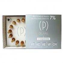 Ampollas Conexión Proteoglicanos 7% Delapiel 15Uds