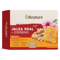 Binature Jalea Real Ginseng 20 Viales Bebibles