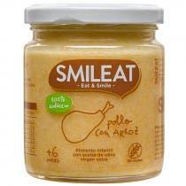 Smileat Tarrito de Pollo con Arroz 100  Ecologico 230g