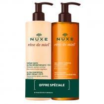 Nuxe Reve de Miel Gel limpiador Dermatologico 400 ml Crema Corporal 400 ml
