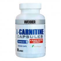 Weider L-Carnitina Extracto Pimienta Negra 100 Capsulas