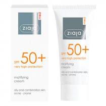 Crema Facial Protectora Matificante SPF50 Ziaja Med 50ml