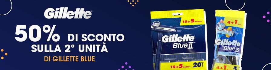 Gillette -50%