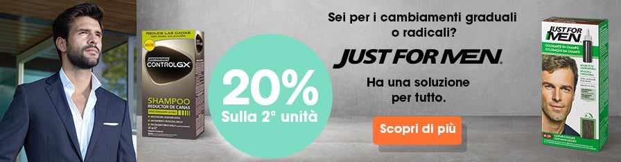 JUST FOR MEN -20%