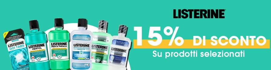 Listerine -15%
