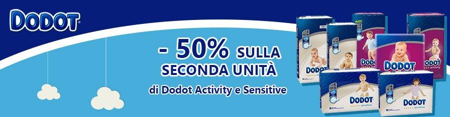 Dodot Sensity e Activity -50%