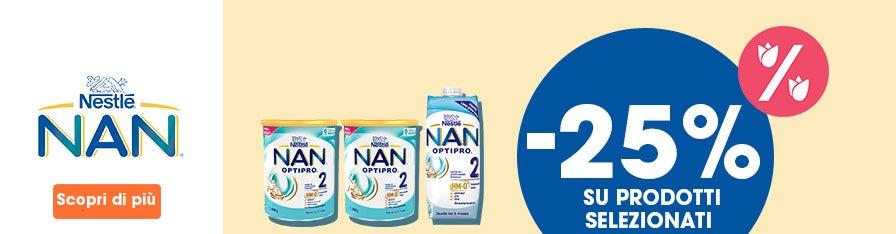 NESTLE NAN -25%