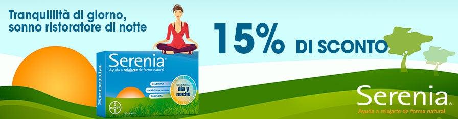 SERENIA -15%